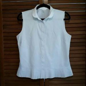 Brooks Brothers Button Down Sleeveless Shirt